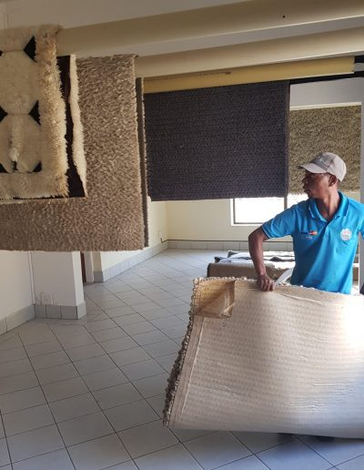 CLiCK Cleaning Rug Drying Room Cleaning
