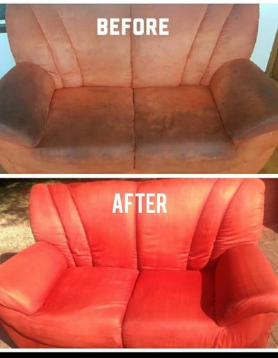 CLiCK Cleaning Upholstery Deep Cleaning Before and After