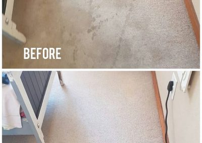 CLiCK Cleaning Residential Carpet Deep Cleaning Before and After