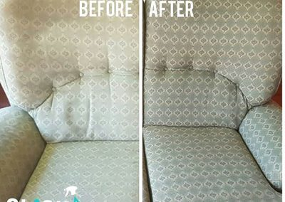 CLiCK Cleaning Couch Cleaning Before and After