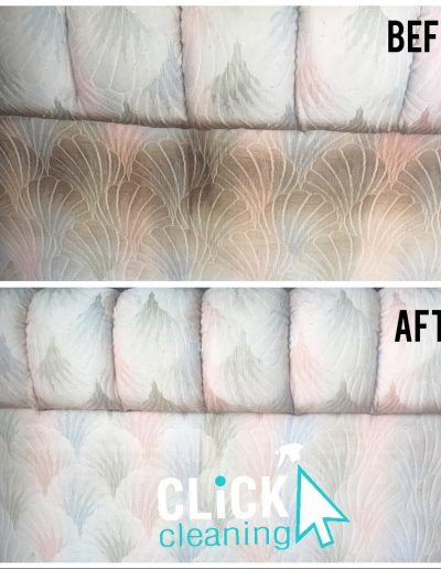 CLiCK Cleaning Deep Couch Cleaning Before and After