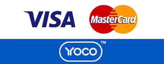 CLiCK Cleaning Yoco Visa MasterCard Logo