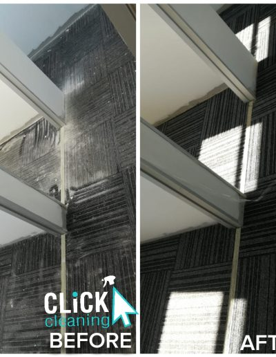 CLiCK Cleaning Deep Commercial Carpet Cleaning Before and After